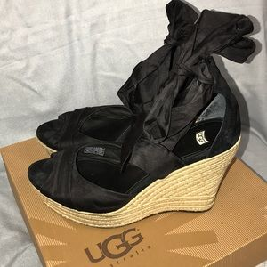 Ugg Wedge Espadrille Sandals